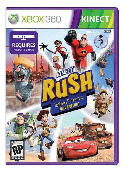 XBOX 360 Kinect Rush: A Disney-Pixar Adventure - 1