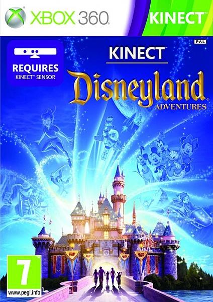 XBOX 360 Kincet Disneyland Adventures - 1