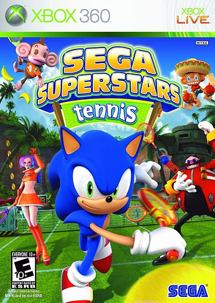 XBOX 360 Sega Superstars Tennis - 1