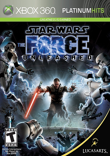 XBOX 360 Star Wars The Force Unleashed - 1