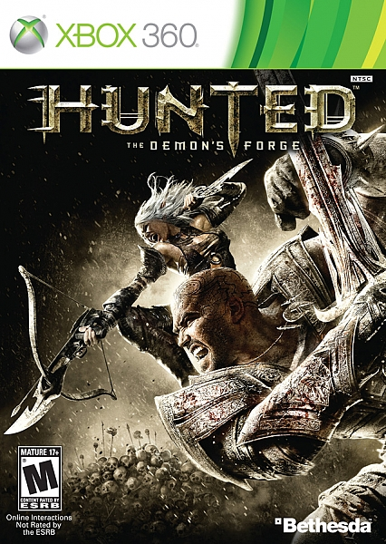 XBOX 360 Hunted The Demons Forge - 1