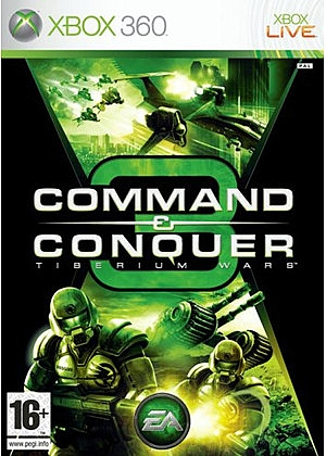 XBOX 360 Command & Conquer 3 Tiberium Wars - 1