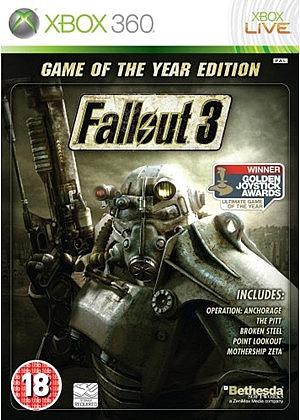 XBOX 360 Fallout 3 - 1