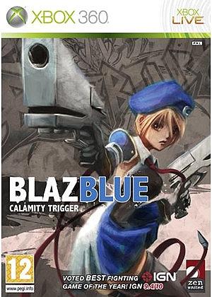 XBOX 360 Blazblue Calamity Trigger - 1