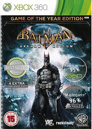 XBOX 360 Batman Arkham Asylum - 1