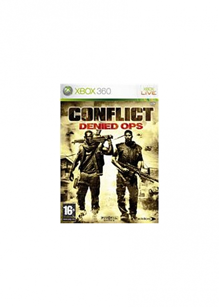 XBOX 360 Conflict Denied Ops - 1