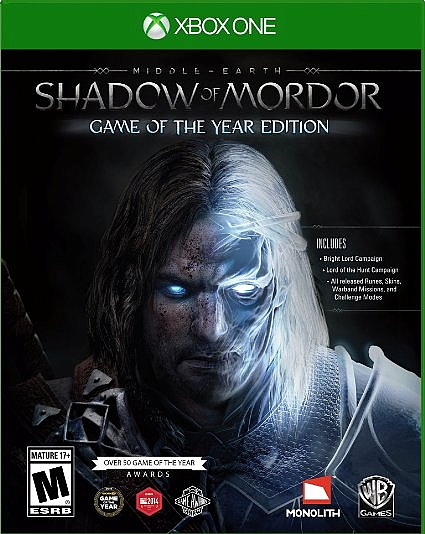 XBOX ONE Middle Earth: Shadow of Mordor: Game Of The Year Edition אירופאי!! - 1