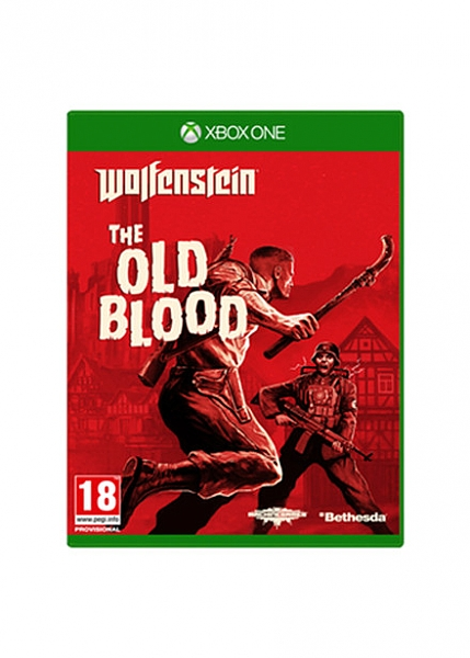 XBOX ONE WOLFENSTEIN THE OLD BLOOD אירופאי!! - 1