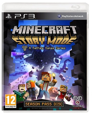 PS3 MINECRAFT STORY MODE - 1