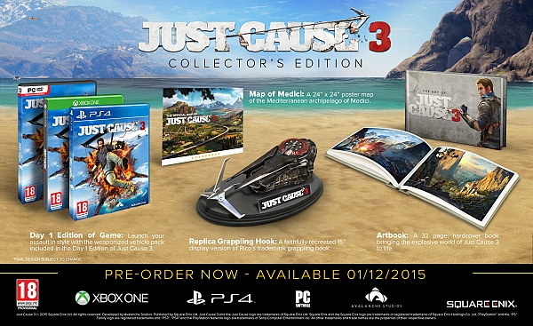 XBOX ONE Just Cause 3 Collectors Edition - 1