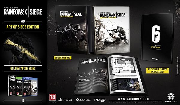 Xbox One Rainbow Six Art Of Siege Edition - 1