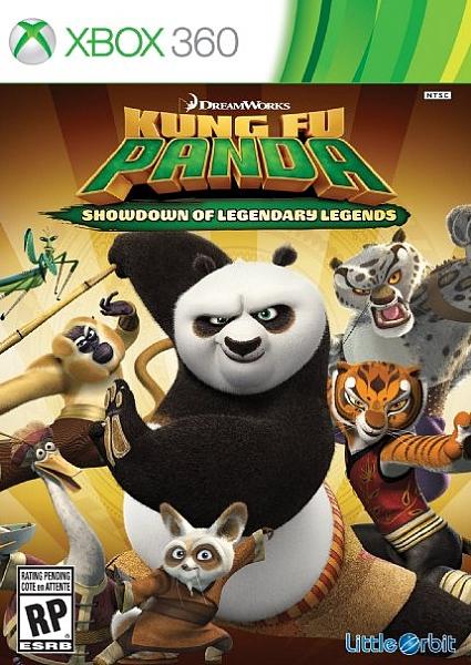 XBOX 360 Kung Fu Panda Showdown Of The Legendary Legends - 1