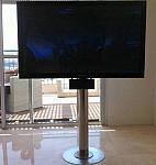 עמוד נירוסטה לטלוויזיה
