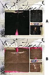 מכנס  קורדרוי G&GO