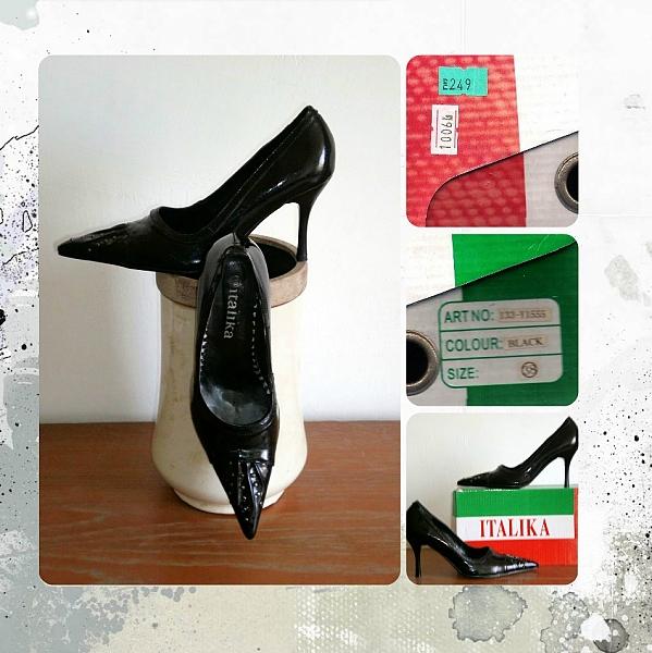 נעל עקב אלגנטית ITALIKA - 1