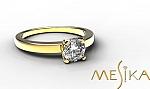 טבעת אירוסין מודל Pl 1_13_1_1