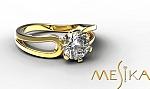 טבעת אירוסין מודל Pl 1_18_1_1