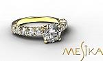 טבעת אירוסין מודל Pl 1_30_1_1