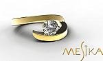 טבעת אירוסין מודל Pl 1_24_1_1