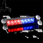 מהבהבים כחול-אדום לרכב ביטחון