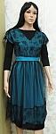 שמלה טורקיז דגם 115