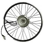גלגל אחורי עם מנוע לאופניים חשמליות 26 אינץ