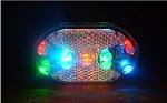 פנס אור אחורי 9 לדים צבעוני
