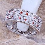 טבעת כסף דגם 2