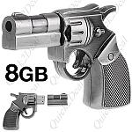 זיכרון נייד 8GB בעיצוב אקדח