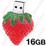 USB 16GB בסגנון תות