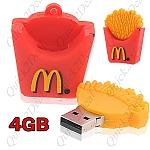 USB 4GB בעיצוב ייחודי