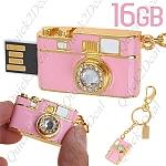 USB 16GB בצורת מצלמה