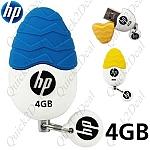 USB 4GB מבית HP