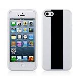 כיסוי Momax Icase MX לאייפון 5/5S לבן-שחור