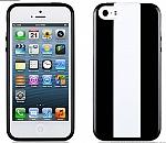 כיסוי Momax Icase MX לאייפון 5/5S שחור-לבן