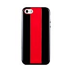 כיסוי Momax Icase MX לאייפון 5/5S אדום-שחור