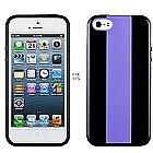 כיסוי Momax Icase MX לאייפון 5/5S סגול-שחור