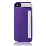 כיסוי Incipio Stowaway אייפון 5/5S סגול