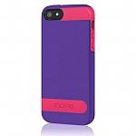 כיסוי Incipio Overmild אייפון 5/5S סגול-ורוד