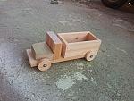 צעצועי ילדים מעץ - משאית מעץ לילדים