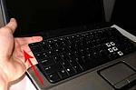 החלפת מקלדת במחשב נייד