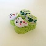 דובון ירוק עם פפיון