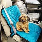 מגן מושב לכלב ברכב