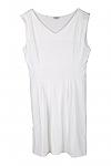 שמלת קורטני- לבן