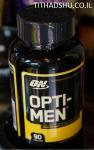 """אופטי מן מולטי-ויטמין לגברים - 90 כד' - ON"""" OPTI-MEN"""""""