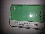 מגן מטען לאייפון 4/4S ירוק