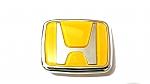 סמל הונדה רקע צהוב