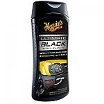 מחדש חלקי פלסטיק וגומי שחורים MEGUIARS ultimate black plastic restorer