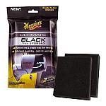 ספוג מחדש חלקי פלסטיק וגומי שחורים MEGUIARS