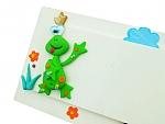 שלט צפרדע ירוקה